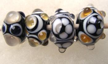 Handgjorda glaspärlor